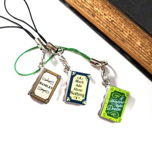 Shakespeare Play Charm by Wilde Designs