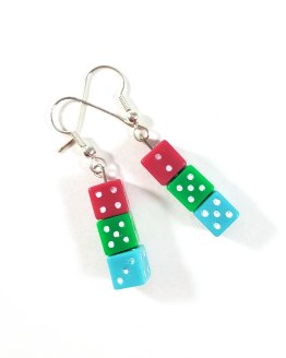 Poly Pride Gamer Gear Earrings by Wilde Designs