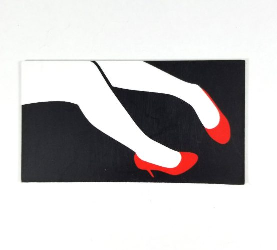 Red Death Magnet by Wilde Designs