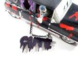 Spooky Cute Purple Glitter Necklace by Wilde Designs