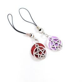 Pretty Pentagram Charms by Wilde Designs