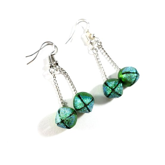 Jingle Bell Rockstar Earrings by Wilde Designs