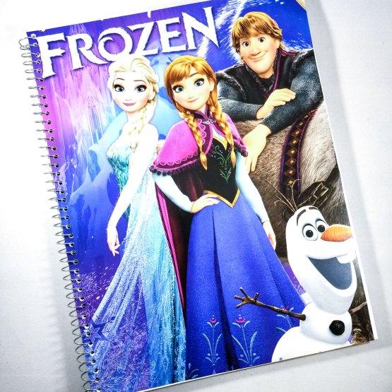 Frozen Notebook by Wilde Designs