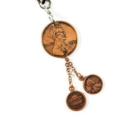 Lucky Penny Charm by Wilde Designs