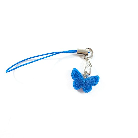 Blue Butterfly Charm by Wilde Designs