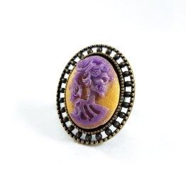 Portrait of a Skeletal Lady Rings by Wilde Designs