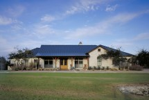 Hill Country Ranch Front Elevation