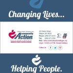 non-profit brochure front page