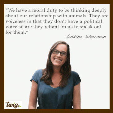 Ondine Sherman – The Power of Education To Ensure a Better Future For The Voiceless
