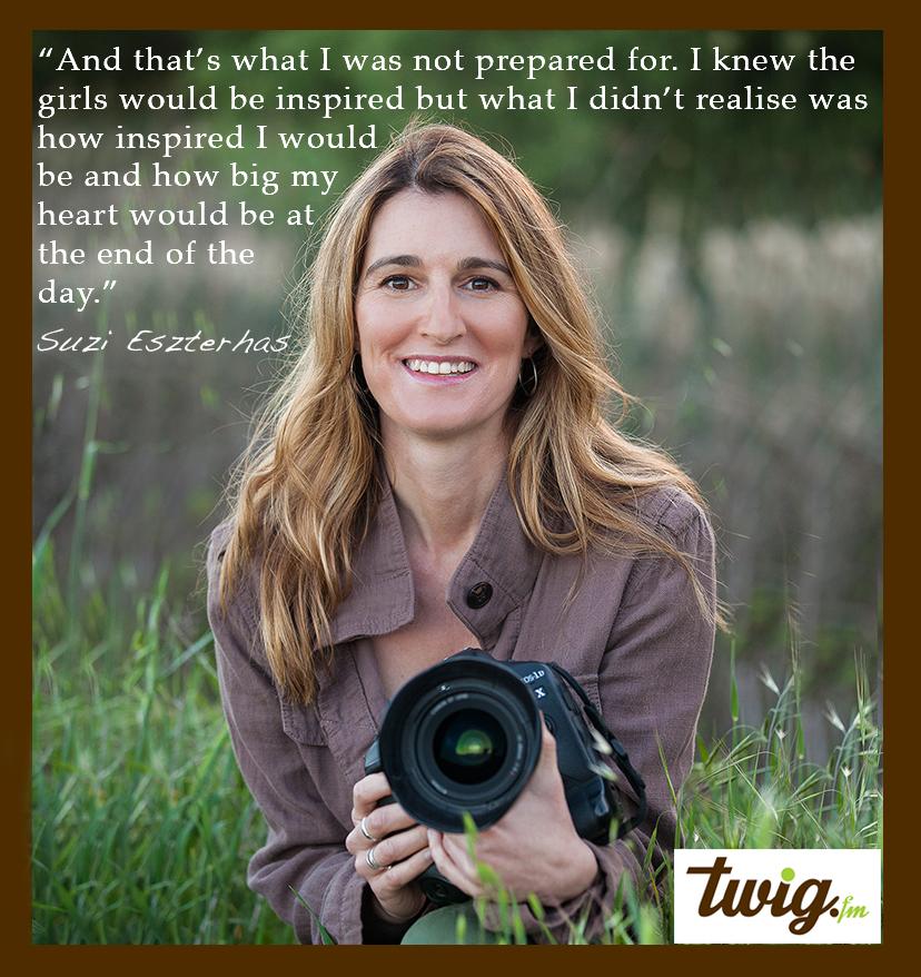 wildlife photographer Suzi Eszterhas