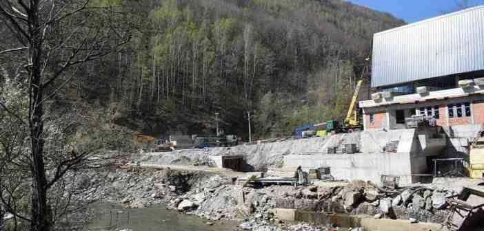 Romania destroys last free flowing river