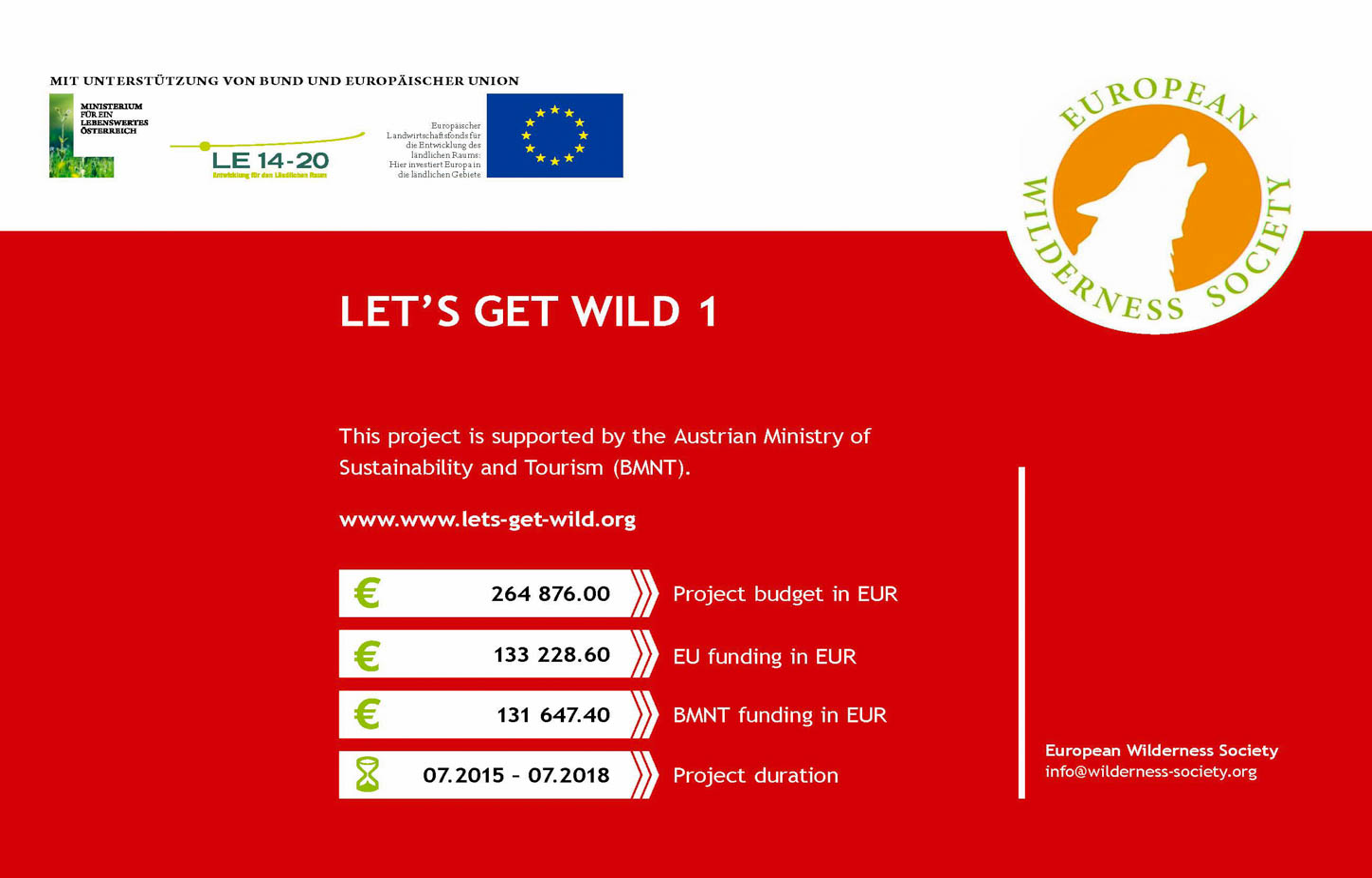 Project Factsheet - National Park Hunsrück-Hochwald