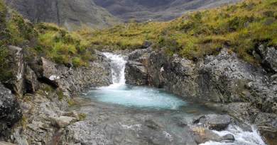 Fairy_Pools,_Skye,_Scotland_17_(highest_pool).jpg Wikimedia Creative Commons 2019 - [CC BY-SA 3.0 (https-//creativecommons.org/licenses/by-sa/3.0)], from Wikimedia Commons