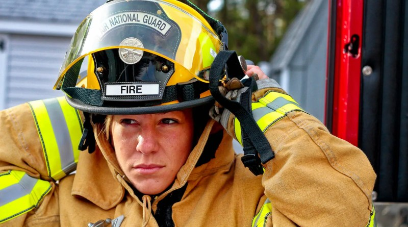 Fire fighting: a woman's job