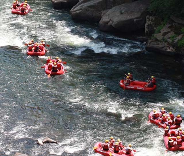Lower Yough Rafting