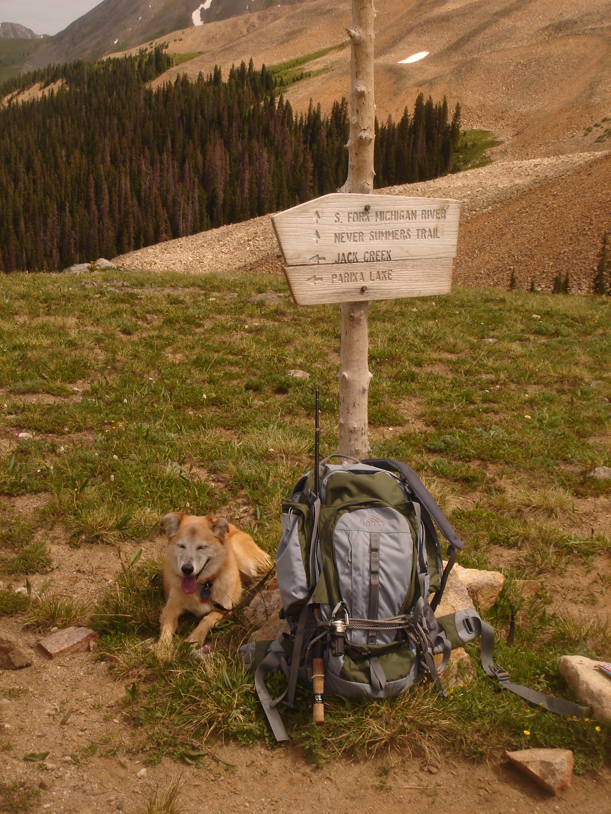 Kelty backpack  Project Wilderness 150