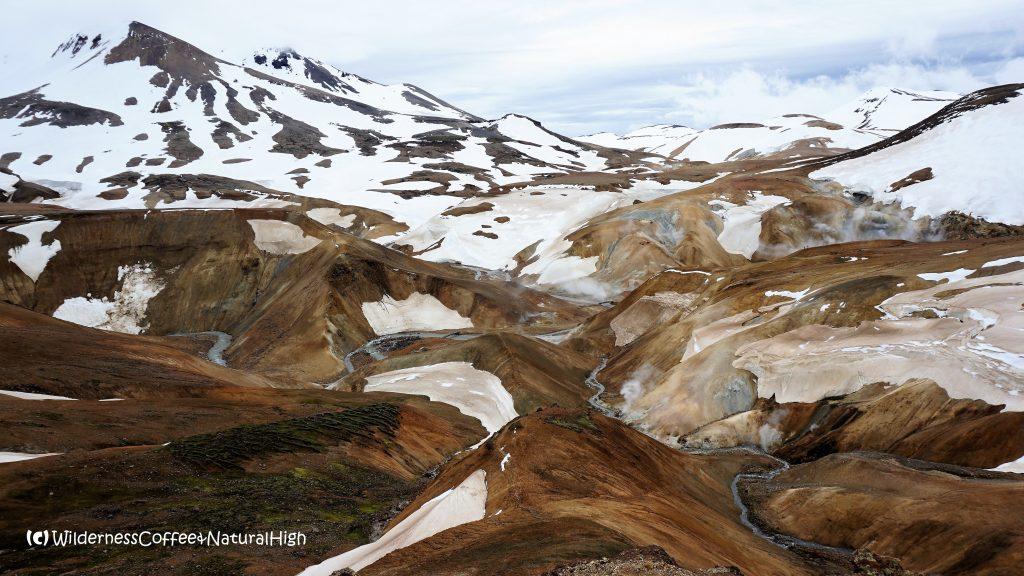 Hveradalir geothermal valley, Kerlingarfjöll, Kjölur road, Iceland