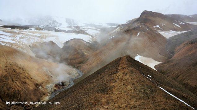 Hveradalir valley ridges, Kerlingarfjöll, Kjölur road, Iceland