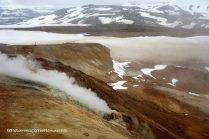 Snorrahver fumarole, Hveradalir, Kerlingarfjöll, Kjölur road, Iceland