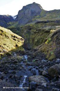 Hvannárgil canyon stream, Þórsmörk, Iceland