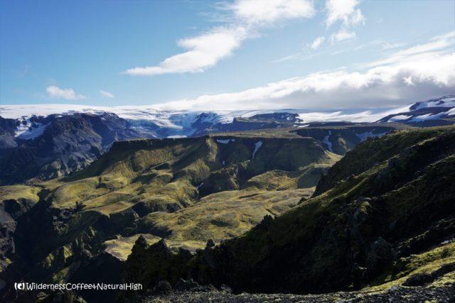 Morinsheiði plateau, hiking trail, Þórsmörk, Iceland