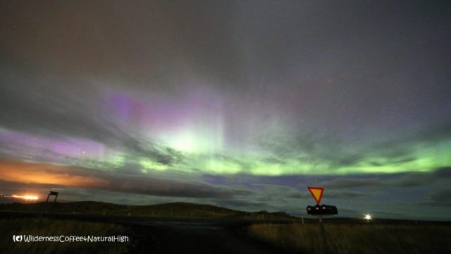 Northern lights, Snæfellsnes, Iceland