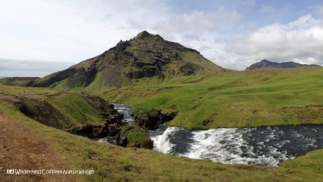 Skóga river near Skógafoss, Iceland