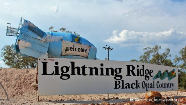 Welcome to Lightning Ridge, New South Wales, Australia
