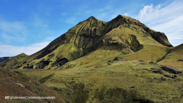 Rjúpnafell, hiking trail, Þórsmörk, Iceland