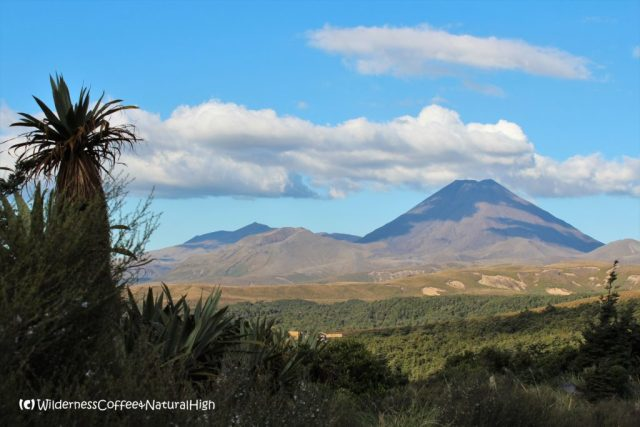Tongariro and Mount Nhauruhoe, North Island, New Zealand