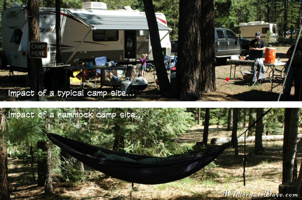 campsite impact on the environment