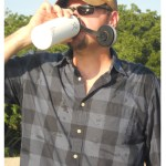 Winderness Dave using the 18 ounce wide mouth Hydroflask