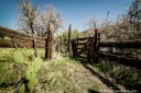 Old abandoned Spur Cross Corral