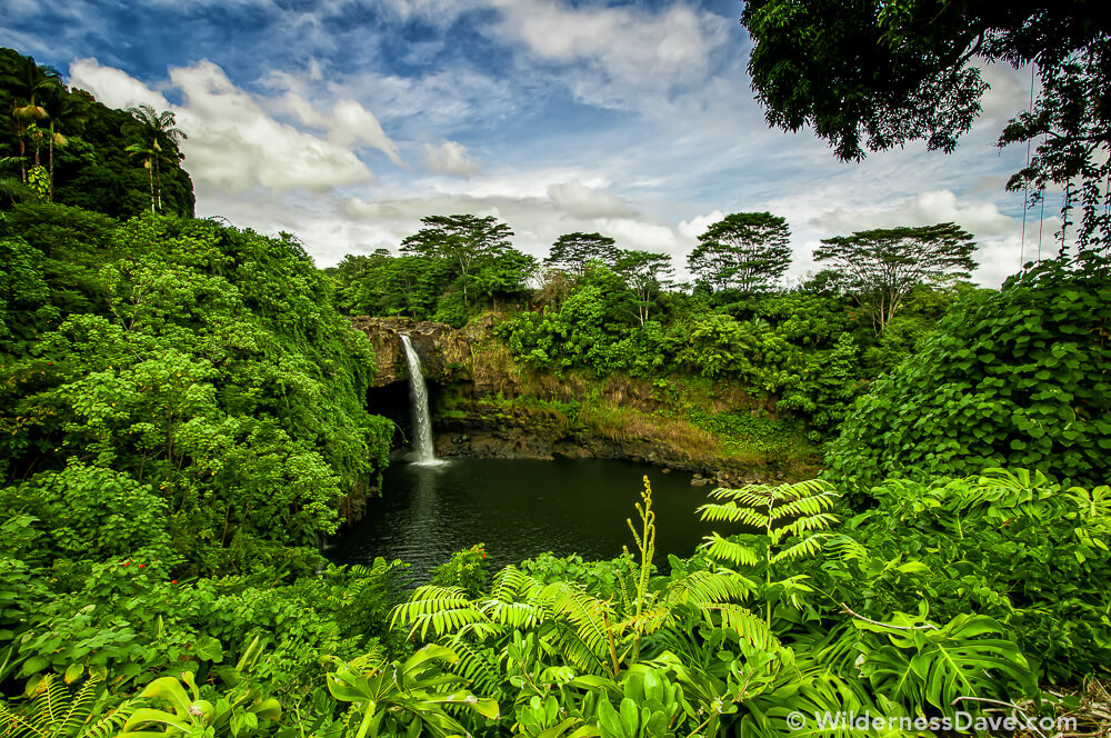 Rainbow Falls near Hilo