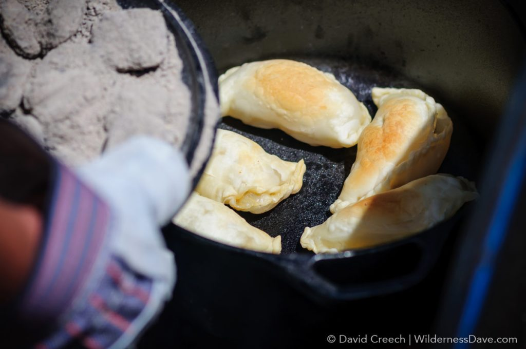 Dutch Oven Empanadas - Forks in the Road