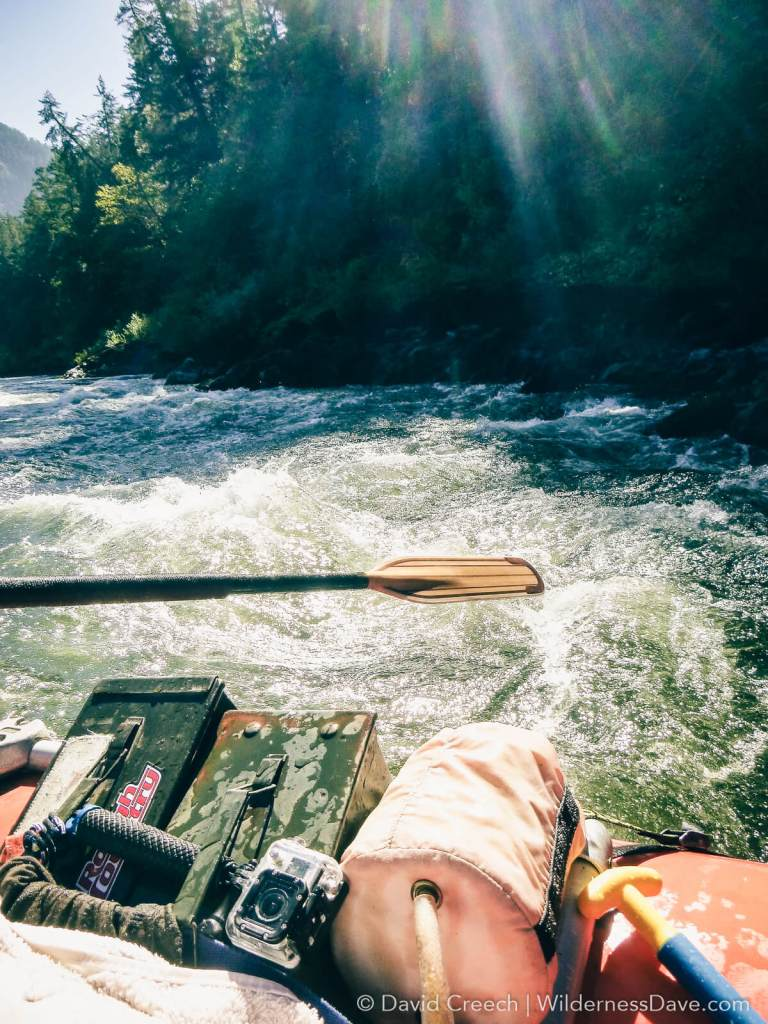 Dave on the Rogue River