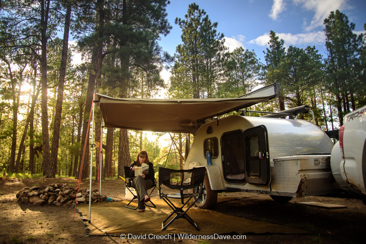 Our Teardrop Trailer Introducing Wilma Wildernessdave