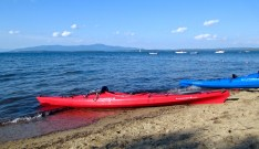Kayaking Lake Winnipesaukee