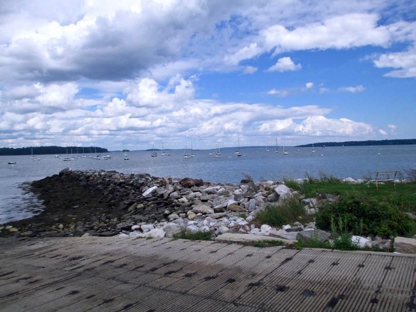 Kayaking-Fort-Gorges-Casco-Bay-Portland-Maine