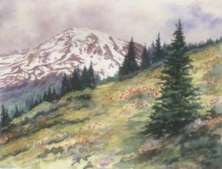 Mount Rainier, ©Heidi Skiba