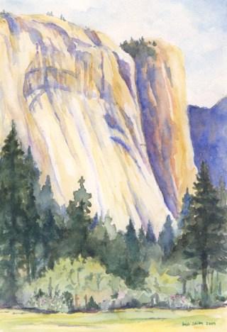Royal Arches, Yosemite National Park, ©Heidi Skiba