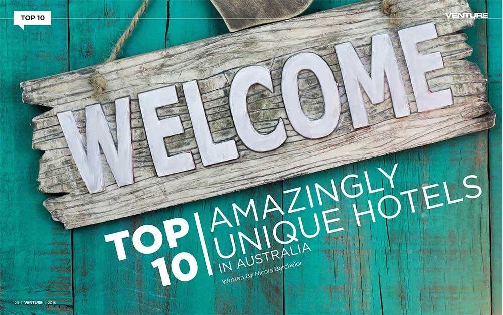 Top 10 Amazingly Unique Hotels