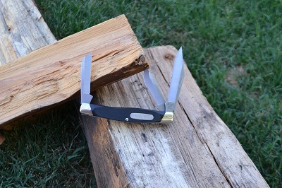 Buck Stockman 3 Blade Knife