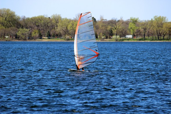 Windsurfing at Lake Calhoun