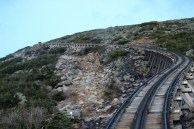 Train line to Mt. Washington