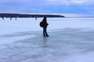 Frozen Superior Lake