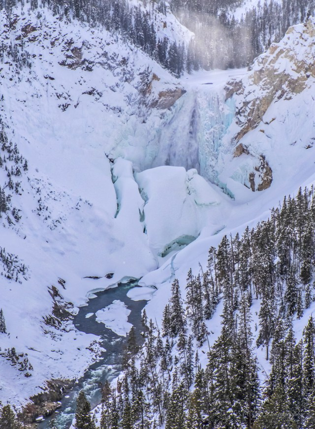 Lower Falls in Winter
