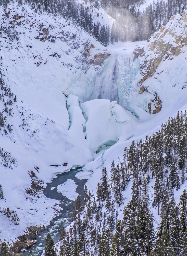Lower Falls in Winter