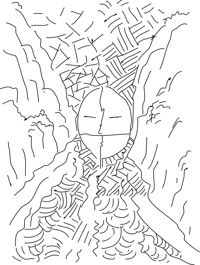 Free coloring pages of divided