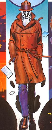 Rorschach, Copyright DC Comics